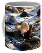 Half Shell On Ice Coffee Mug