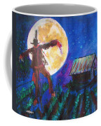 Scarecrow Dancing With The Moon Coffee Mug