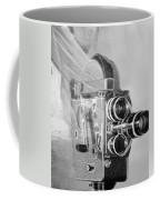 Scarf Camera In Black And White Coffee Mug