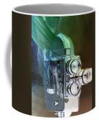 Scarf Camera In Negative Coffee Mug