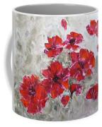 Scarlet Poppies Coffee Mug