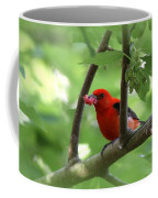 Scarlet Tanager - Fallout Coffee Mug