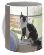 Scarlow Sitting In The Window Coffee Mug