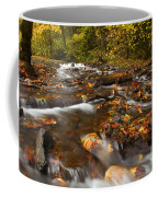 Scattered Leaves Coffee Mug by Mike  Dawson