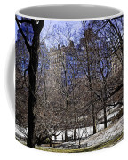 Scene From Central Park - Nyc Coffee Mug by Madeline Ellis