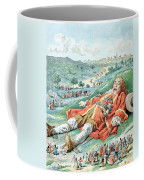 Scene From Gullivers Travels Coffee Mug