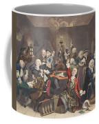 Scene In A Gaming House, Plate Vi Coffee Mug