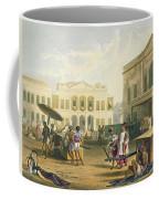 Scene In Bombay, From Volume I Coffee Mug