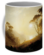 Scene In Yosemite Valley Coffee Mug