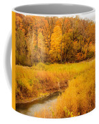 Scene Of Gold Coffee Mug