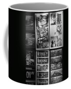 Scenes Of New York In Black And White Coffee Mug by Rob Hans