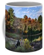 Scenic Autumn At Oakley's Coffee Mug by Christina Rollo