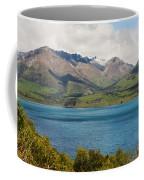 Scenic View On Lake Wakatipu Coffee Mug