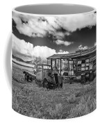 Schellbourne Station And Old Truck Coffee Mug by Robert Bales
