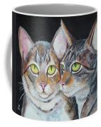 Scheming Cats Coffee Mug