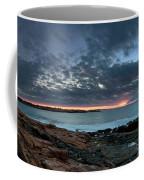Schoodic Point Sunrise 7218 Coffee Mug