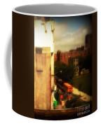 School Bus - New York City Street Scene Coffee Mug