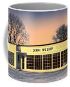 School Bus Repair Shop Coffee Mug