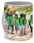 School Children In Gyeongju Korea Coffee Mug