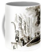 School Days At Ursuline II Coffee Mug by Kip DeVore