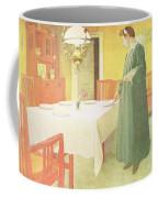 School Household, Dining Room Scene Coffee Mug