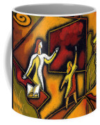 School Coffee Mug by Leon Zernitsky