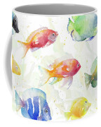 School Of Tropical Fish Coffee Mug