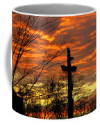 School Totem Pole Sunrise Coffee Mug