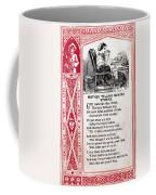 School Trade Card, C1860 Coffee Mug