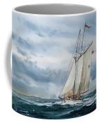 Schooner Adventuress Coffee Mug by James Williamson