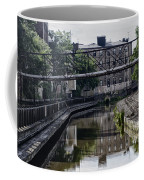Schuylkill Canal In Manayunk Coffee Mug by Bill Cannon