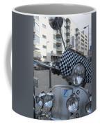 Scooter In The Spotlight Coffee Mug