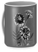 Scotch-stripe Marigolds Coffee Mug