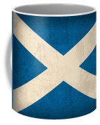 Scotland Flag Vintage Distressed Finish Coffee Mug by Design Turnpike