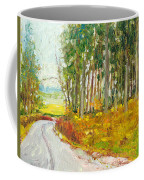 Scottish Forest In Spring Coffee Mug