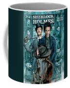 Scottish Terrier Art Canvas Print - Sherlock Holmes Movie Poster Coffee Mug