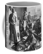 Scouts Camp In Window Coffee Mug