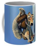 Scrat Of Ice Age Coffee Mug by Paul Meijering