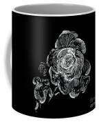 Scratched Rose Coffee Mug