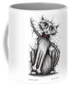 Scratchy Cat Coffee Mug