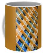 Scratchy Hotel Facade Coffee Mug