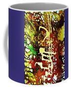 Scrawled Coffee Mug