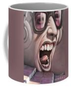 Screamer Coffee Mug by Gillian Singleton