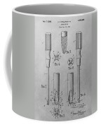 Screwdriver Patent Drawing Coffee Mug