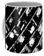 Screwed Metal Tab Abstract Coffee Mug