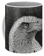 Scribble Eagle Coffee Mug