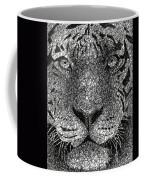Scribble Tiger Coffee Mug