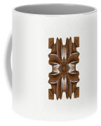 Sculpted Mandala Yantra Coffee Mug