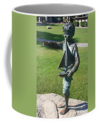 Sculpture - Boy With Sailboat Coffee Mug