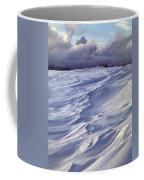 1m9347-sculptured Snow And Grand Teton Coffee Mug